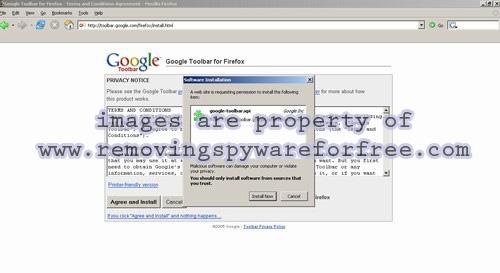 Installing Google Toolbar for Firefox